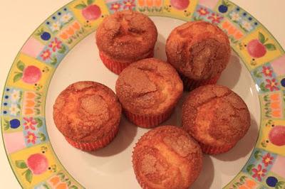 Muffins o magdalenas de mascarpone