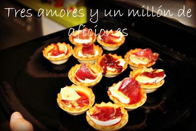 Tartaletas de jamón