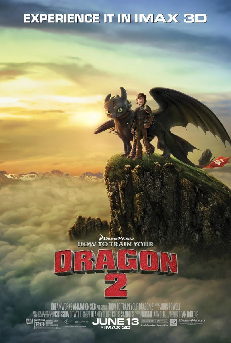 Películas que vemos: Cómo entrenar a tu dragón 2